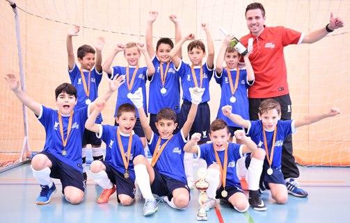 justfootball academy E Junioren 2 Rang WEB