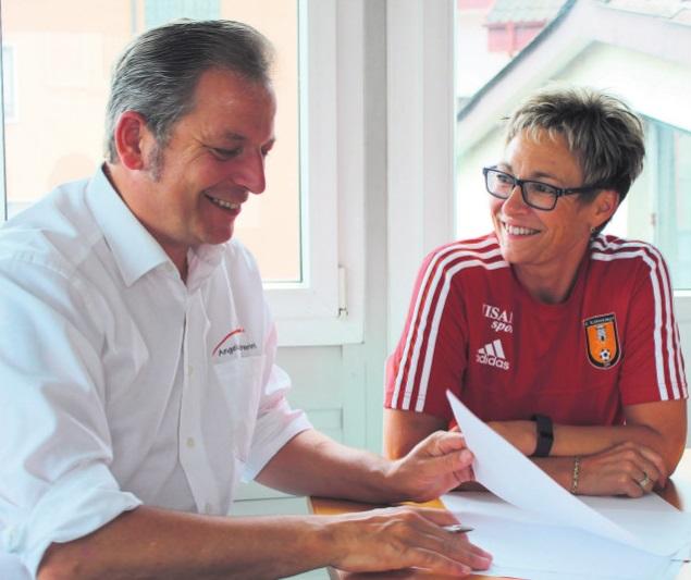 Joëlle Wagner und Angelo Borserini (Foto z.Vfg)